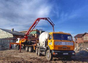 Заказ и доставка бетона