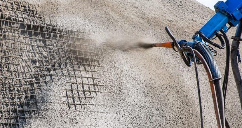 Торкрет бетон характеристики расход бетонной смеси на устройство пола